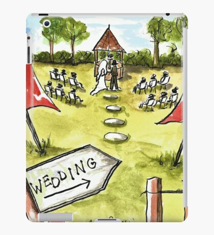 Outdoor Wedding iPad Case/Skin