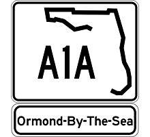 A1A - Ormond-By-The-Sea Photographic Print