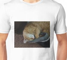 Lazy cat Unisex T-Shirt