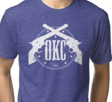 Six Shooters OKC Tri-blend T-Shirt