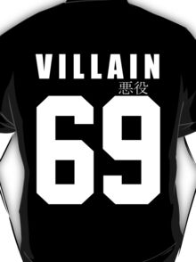 VILLAIN 69 Black T-Shirt T-Shirt