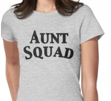 Aunt Squad Womens Fitted T-Shirt