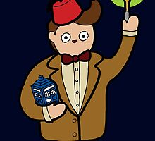 When I grow up I want to be The Doctor by evannave