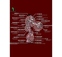 Oddworld - Mudokon Meat Preparation Instructions Photographic Print