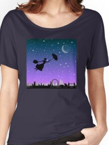 magical mary poppins Over London Women's Relaxed Fit T-Shirt