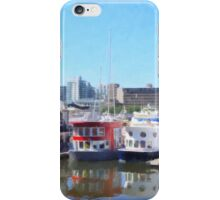 Vancouver Houseboats iPhone Case/Skin