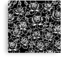 Tattoo roses Canvas Print