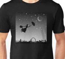 magical mary poppins Over London Unisex T-Shirt