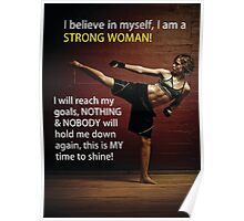 I Am A Strong Woman Poster