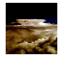 cloud - Cappuccino Photographic Print