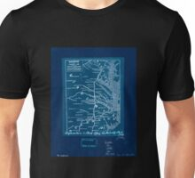 0177 Railroad Maps Railroads in Virginia and part of North Carolina drawn and engraved for Doggett's Railroad Guide Inverted Unisex T-Shirt