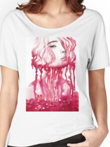 Drop of blood Women's Relaxed Fit T-Shirt