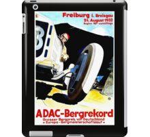 """FREIBURG GRAND PRIX"" Vintage Auto Racing Print iPad Case/Skin"