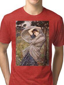 John William Waterhouse - Boreas  Tri-blend T-Shirt