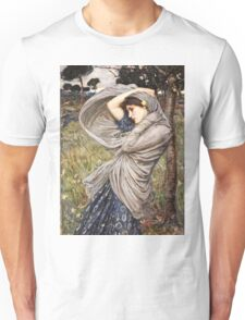 John William Waterhouse - Boreas  Unisex T-Shirt