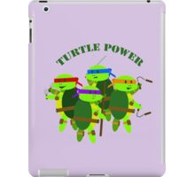 TMNT turtle power iPad Case/Skin