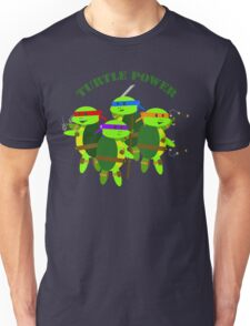 TMNT turtle power Unisex T-Shirt