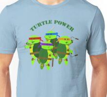 TMNT turtle power Unisex T-Shirt