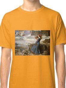 John William Waterhouse - Miranda - The Tempest  Classic T-Shirt