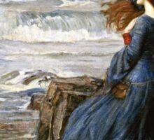John William Waterhouse - Miranda - The Tempest  Sticker