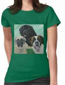Mia, Zoey & Kamarae Womens Fitted T-Shirt