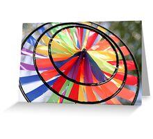 Wind Wheel Greeting Card