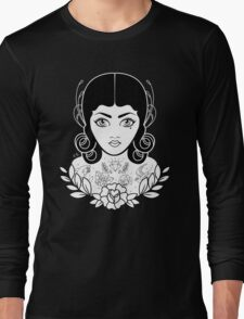 Flapper in black Long Sleeve T-Shirt