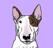 Lola Bull Terrier Friend Of Freddie by Sookiesooker