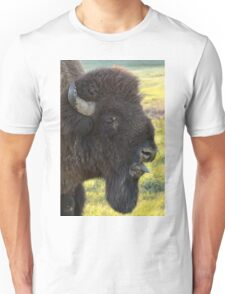 Bison Sticking Tongue Out  Unisex T-Shirt