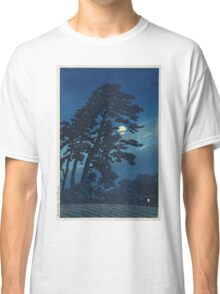 Kawase Hasui - Full Moon In Magome Classic T-Shirt