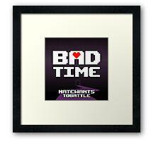 Bad Time Album Cover PRINT Framed Print