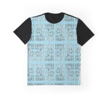30 Potted Plants Design in Turquoise Graphic T-Shirt