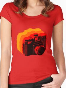 Holga Square T-Shirt Women's Fitted Scoop T-Shirt
