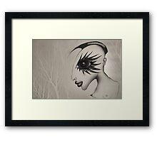 FLOWER OF DEAD WOOD Framed Print