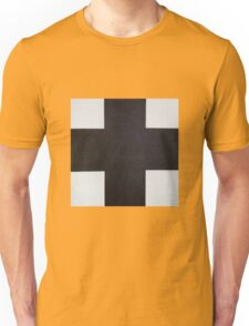 Kazemir Malevich - Black Cross 1923 Unisex T-Shirt
