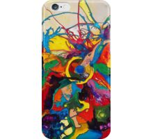 Disintegration of a Highly Colored Fish Eye iPhone Case/Skin