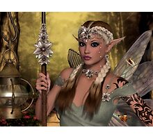 Beautiful Brown Fae Photographic Print