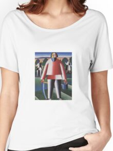 Kazemir Malevich - Haymaking 1929 Women's Relaxed Fit T-Shirt