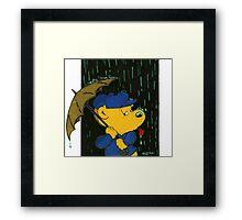 Ferald's Taste Of Rain Framed Print