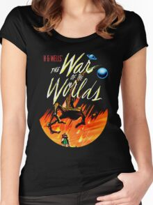 War of the Worlds T-shirt! Women's Fitted Scoop T-Shirt