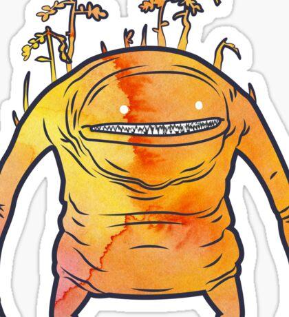 Fiery Goobbue Sticker