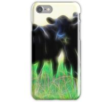 Electric Cows iPhone Case/Skin