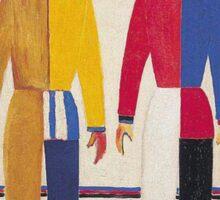Kazemir Malevich - Spotrsmeny 1931 Sticker