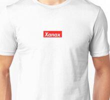 Xanax Box logo Unisex T-Shirt