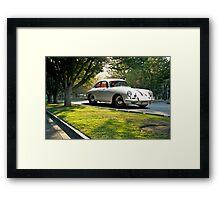 Porsche 356 Coupe Framed Print
