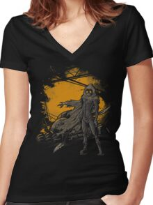 Spice Harvester Women's Fitted V-Neck T-Shirt
