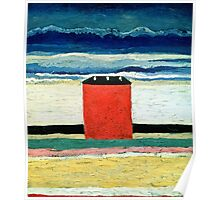 Kazimir Malevich - Red House  Poster