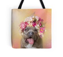 Flower Power, Wombat Tote Bag