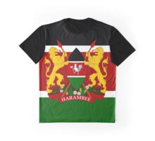 KENYA-COAT OF ARMS Graphic T-Shirt