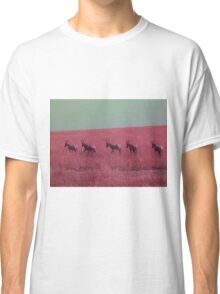 Hartebeest in Red Classic T-Shirt